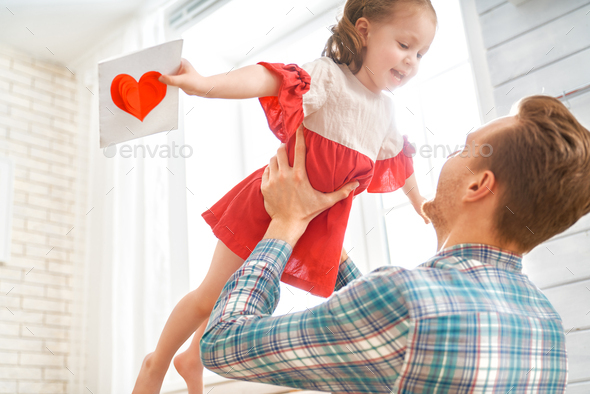 Happy father's day - Stock Photo - Images