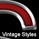 Vintage Chrome Styles - GraphicRiver Item for Sale
