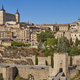 Toledo medieval city panoramic view. Spanish unesco traditional old town - PhotoDune Item for Sale