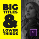 Corporate Big Titles I MOGRT - VideoHive Item for Sale