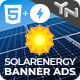 Solar Energy - HTML5 & AMPHTML Animated Banners (2-in-1)