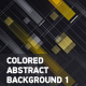 Colored Abstract Backgrounds 1 - VideoHive Item for Sale
