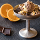 Orange and chocolate ice cream - PhotoDune Item for Sale