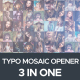 Typo Mosaic - VideoHive Item for Sale