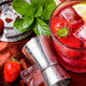 Alcoholic strawberry cocktail - PhotoDune Item for Sale