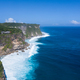 beautiful uluwatu cliff with blue sea - PhotoDune Item for Sale