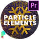 Christmas Particle Elements for Premiere Pro