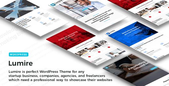 Lumire - Responsive Business WordPress Theme