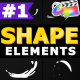 Cartoon Shape Elements | Apple Motion - VideoHive Item for Sale