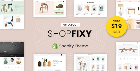ShopFixy - Sectioned Multipurpose Shopify Theme