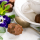 Chocolate candies in flower shape - PhotoDune Item for Sale