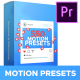 Motion Presets for Premiere Pro