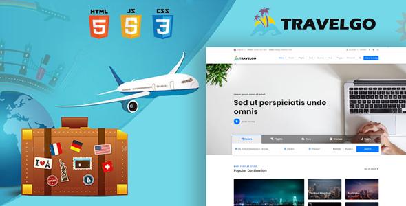 TravelGo - Travel, Tour Booking HTML5 Template