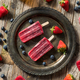 Homemade Frozen Kombucha Berry Popsicles - PhotoDune Item for Sale