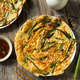 Homemade Korean Pajeon Scallion Pancakes - PhotoDune Item for Sale