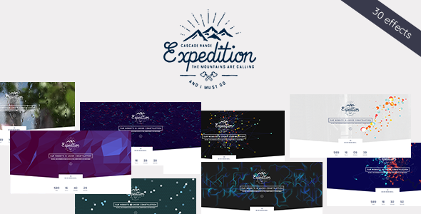 Expedition - Exclusive Coming Soon WordPress Theme