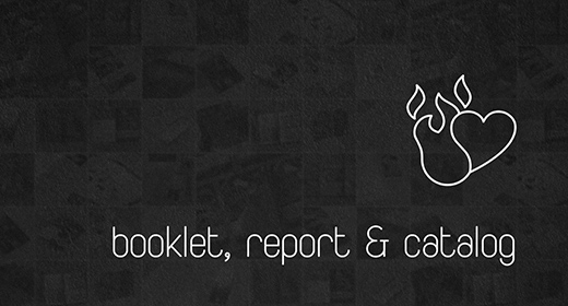 Booklet, Report & Catalog