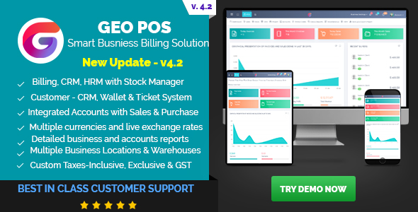 Latest] Geo POS - Point of Sale, Billing and Stock Manager