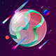 Earth in Space Logo - VideoHive Item for Sale