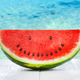 Watermelon with smiley seeds. - PhotoDune Item for Sale