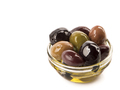 Bowl of different types of olives and olive oil - PhotoDune Item for Sale