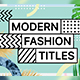 Modern Fashion - VideoHive Item for Sale