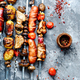 Grilled meat skewers,shish kebab - PhotoDune Item for Sale