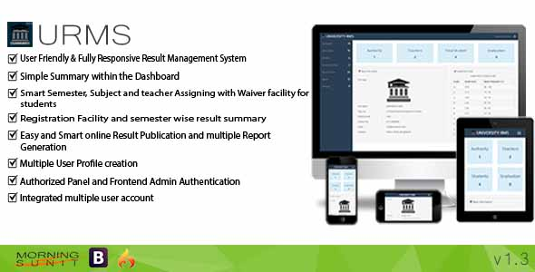 URMS - University Result Management System