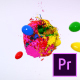 Mixing Paints Logo Reveal – Premiere Pro - VideoHive Item for Sale