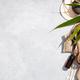 Zero waste, eco friendly bathroom accessories on concrete background - PhotoDune Item for Sale