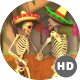 Mexican Dancing Skeletons In A Village #3 - VideoHive Item for Sale