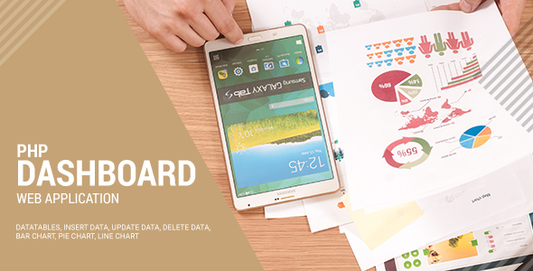 PHP Dashboard (Codeigniter, Highcharts, Ajax Form, MySQL)