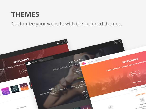 phpSound - Music Sharing Platform - 7