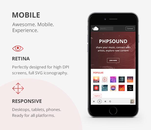 phpSound - Music Sharing Platform - 6