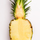 Pineapple half on white - PhotoDune Item for Sale