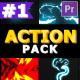 Action Elements Pack | Premiere Pro MOGRT - VideoHive Item for Sale