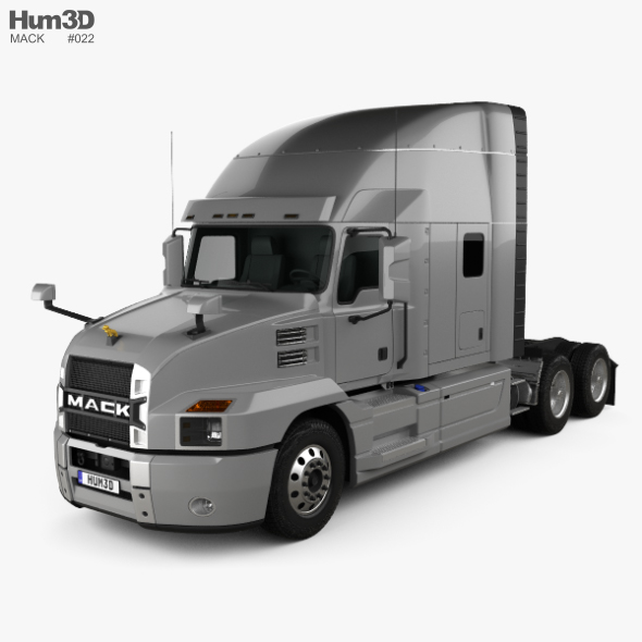 Mack Anthem StandUp Sleeper Cab Tractor Truck 2018