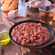 dish of red beans cooked on classic wooden table - PhotoDune Item for Sale