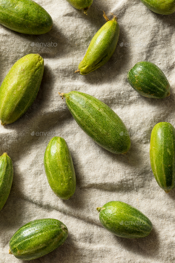 Raw Green Organic Indian Parval - Stock Photo - Images