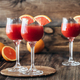 Three glasses of Mimosa cocktail - PhotoDune Item for Sale