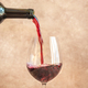 Red wine pouring into glass - PhotoDune Item for Sale