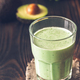 Avocado and coconut milk smoothie - PhotoDune Item for Sale