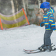Little boy skiing for the first time - PhotoDune Item for Sale
