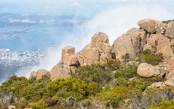 Mount Wellington in Tasmania - Stock Photo - Images