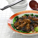 braised dried oysters with black moss (ho see fat choy ) , traditional chinese new year dish - PhotoDune Item for Sale