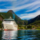 Cruise Liners On Geiranger fjord, Norway - PhotoDune Item for Sale