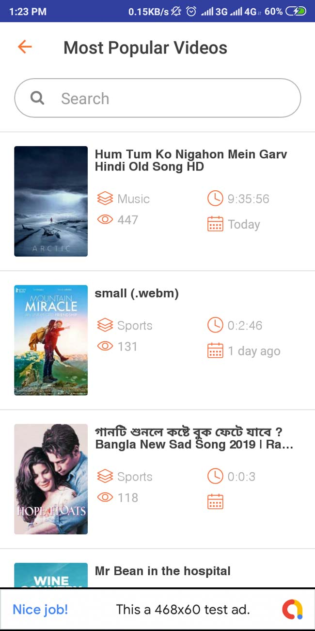 bollywood video song app for android