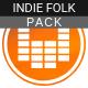 Happy & Uplifting Folk Acoustic Pack