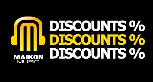 DISCOUNTS %