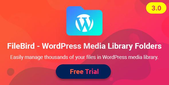 FileBird - WordPress Media Library Folders Nulled